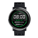 Bakeey G30 24h Heart Rate Blood Pressure O2 Monitor 1.3inch IPS Full-touch Screen bluetooth Music Weather Push Smart Watch