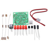 3pcs EQKIT® Electronic Funny Kits Voice Control LED Melody Light DIY Kits Production Suite Small Electronic Learning Electronic Kits