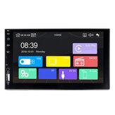 X2 7 Pollici 2 Din HD Auto Radio MP5 Player Touch Screen bluetooth FM USB TF Card AUX remoto Supporto Vista posteriore fotografica