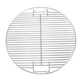 44.5 cm Rodada Churrasqueira Grelha de Carvão Vegetal para Churrasco Pan Pan Substituição de Metal Quadro de Malha de Churrasco