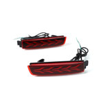 Pair Car Rear Bumper Reflector Tail Brake Light For Nissan Juke Murano Quest Infiniti FX35 FX50 Bluebird SYLPHY Kicks Nissan Terra
