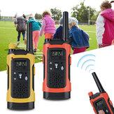 2 Adet Çocuk Kablosuz Walkie Talkie Uzun Menzilli Çocuk Set Elektronik Oyuncaklar