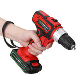 48V 2-Gang Akku-Elektroschrauber wiederaufladbar Batterie LED Lighting Power Drills Driver