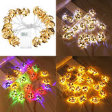 Battery Supply 3M 20PCS Moon Star Ramadan LED Lamp String Light for Islamic Christmas Holiday Decor