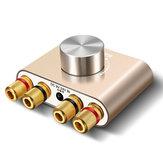 ELEGIANTミニステレオアンプTV 2.0チャンネルハイパワーアンプ50Wx2ミニBluetooth 5.0 HiFiデジタルアンプステレオオーディオアダプター
