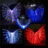 LED Isis Wings Night Light Glow Up Lampe Costume Belly Dance Égyptien Club Show Avec Bâton