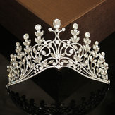 Wedding Crystal Rhinestone Hair Headband Crown Comb Tiara