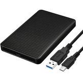 USB3.0 Type-C Enclosure per disco rigido esterno 2.5 Pollici SATA SSD Case Tool Coperchio unità a stato solido gratuito