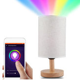 FCMILA Wifi Smart Desk Lamp Compatible with Google Home, Supports More Than 20 Languages Voice Control