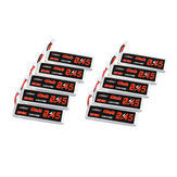 10Pcs URUAV 3.8V 450mAh 80C / 160C 1S Lipo Батарея PH2.0 Штекер для EMAX Tinyhawk II 75 мм Tiny7 Happymodel Snapper7