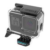 ShelngKa FLW-320 Caixa à prova d'água de 60m de proteção Caso para GoPro Hero 8 Câmera de ação FPV preta
