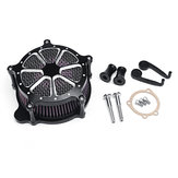 Motorcycle Air Cleaner Intake Filter For Harley Motor 93-2007