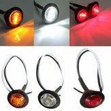 12V-24V LED Side Marker Light Indicator Lamp Car Bus Truck Trailer Caravan Lorry