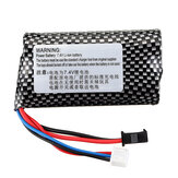 7.4v 1300mah Li-ion Battery For WPL B1 B16 B24 B36 C1 C24 C34 JJRC Q60 Q61 Q65 MN 90 RC Car Parts