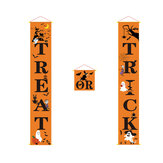Halloween Porch Banner Outdoor Decorations for Home Hanging Pendant Ornament