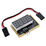 Upgraded PWM Tester Pulse Width Frequency Displayer for Servo Robot Remote Control Flight Controller Debugging Tool Double Row Pins