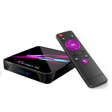 X88 PRO X3 Amlogic S905X3 4GB RAM 32GB ROM 5G WIFI bluetooth 4.1 8K Android 9.0 TV Caja