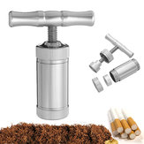 Zinc Alloy Pollen Presser Compressor Press Herb Grinder Spice Grinder Crusher Accessories