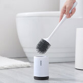 TPR Toilet Brush and Holder Cleaner Set Floor-standing Bathroom Cleaning Brush Tool