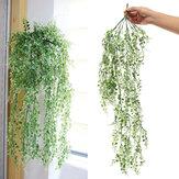 84cm künstliche Blätter Vine Green Leaf Rattan Ivy Ornamente für Hochzeitsfestdekorationen