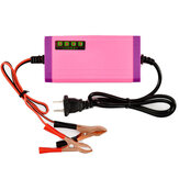 12V 2A Smart Battery Pulse Charger Battery Repair Charger Wet Dry US/EU Plug For Car Motorcycle