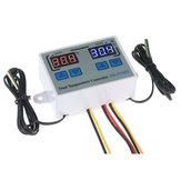 XK-W1088 Termostato digitale Regolatore di temperatura regolabile con doppio controllo di alta precisione Microcomputer Display Regolatore elettronico