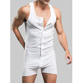 Mens Stretch Bodysuit Leotard Briefs Underwear Wrestling Singlet Tops