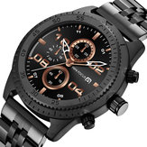 MINI FOCUS 0230G Waterproof Chronograph Men Quartz Watch