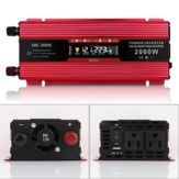 KME-2000W LCD Solar Inverters Anti-reverse Protection Inverter Modified Sine Wave Power Inverter