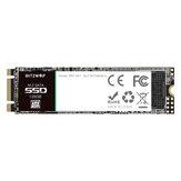 BlitzWolf® BW-SA1 M.2 SATA SSD 6 Go / s SSD 128 Go avec lecture / écriture haute vitesse à 524 Mo / s 468 Mo / s pour disque dur de bureau pour ordinateur portable