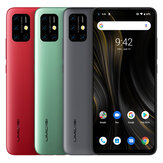 UMIDIGI Power 3 Global Bands 6,53 tommer FHD + Android 10 6150mAh NFC 48MP AI Quad-kameraer 4GB 64GB Helio P60 4G Smartphone