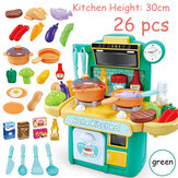 Kitchen Playset Play Kids Rollenspiel Toy Toddler Kitchenware Kochset Spielzeug