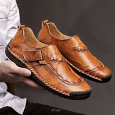 Chaussures en cuir couture main hommes
