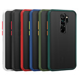 Voor Xiaomi Redmi Note 8 Pro Case Bakeey Armor Shockproof Anti-fingerprint Matte Translucent Hard PC & Soft TPU Edge Protective Case