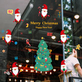 Miico SK9230 Christmas Catoon Wall Sticker Removable For Christmas Party Room Decoration