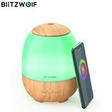 BlitzWolf® BW-FUN3 Wi-Fi Dyfuzor olejków eterycznych Ultradźwiękowy aromaterapia Nawilżacz Sterowanie APP Amazon Alexa Google Home Control with 7 Colorful Light