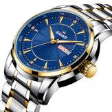 SWISH0107LuminousDateWeekDisplay Relógio de quartzo