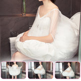 Toilet Buddy Petticoat for Bridal Wedding Dress Gather Skirts Underskirt 65-105cm