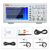 UNI-T UTD2102e رقمي راسم الذبذبات 100MHz مع USB OTG Logic Analyzer Bandwidth 2 Channels 500Ms / S Storage Portable 7