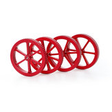 Creality 3D® 4 pcs Upgrade Large Size Metallic Red Leveling Nut untuk Platform Platform Printer 3D