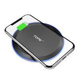 TOPK 10W LED Indicator Fast Charging Wireless Charger For iPhone 8 8Plus X XS/Dorid Turbo/Moto 360 Smart Watch/Moto Droid Maxx/Google Nexus/ HUAWEI P30 Mate20 Pro/ Oneplus 7/ MI9 S10 S10+