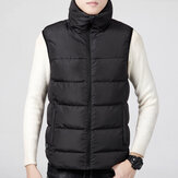 Electric Vest Heated Cloth Jacket USB Warm Up Heating Pad Body Winter Warmer Men