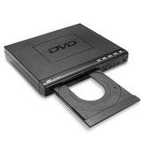 1080P DVD Player remoto Controlador Multi-ângulo de visualização USB SD Card Reader CD DVD-RW
