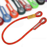 Outdoor Camping Hiking Safety Rope Rock Climbing Mountaineering Sling Loop Rope Life Rope-Orange 60/100/120/150/200cm