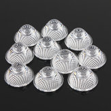 10pcs 30 Degree Soft Light Bead Surface Lens For 1w 3w 5w LED MR16 GU10 E27
