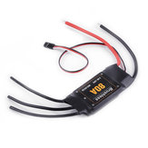 RC Brushless ESC 80A UBEC 2S-6S Electronic Speed Controller with BEC DIY Module for RC Airplane FPV Racing Drone Plane Aircraft Boat Car