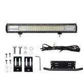22-calowy 108LED DC10-30V 648W 64800LM Lampa robocza LED Bar Combo Light IP67 Grupa linii