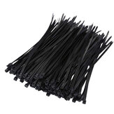 Suleve ZT06 Nylon 500Pcs/1000Pcs 3mm 6/8/10/12/15/20cm Black/White Nylon Self-locking Cable Tie Zip Ties Strong Tensile Strength
