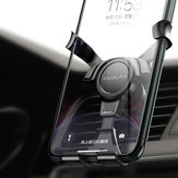 KUULAA Gravity Linkage Air Vent Car هاتف Holder Car Mount for 4.5-6.5 بوصة ذكي هاتف for iهاتف for Samsung Xiaomi Redmi Note 8 غير أصلي