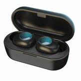 PT20 TWS bluetooth 5.0 Fone de ouvido de toque à prova d'água sem fio estéreo Hifi Fones de ouvido com carregamento Caso para